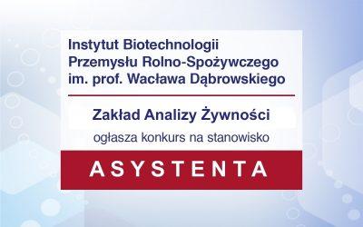 Konkurs Asystent ZA