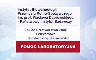 Praca – pomoc laboratoryjna ZZ
